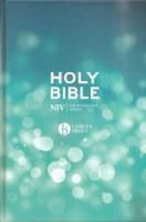 Picture of NIV 2011 BIBLE LARGER PRINT BLUE PEW