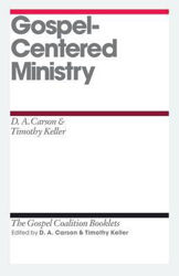 Picture of TGC/GOSPEL-CENTRED MINISTRY