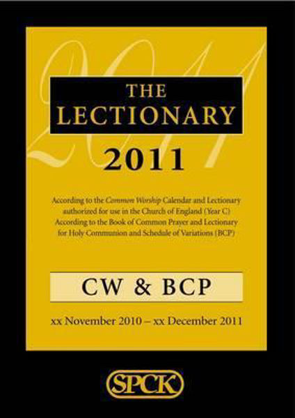 Picture of COMMON WORSHIP LECTIONARY CW & BCP 2011