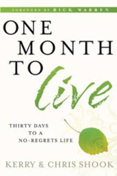 Picture of ONE MONTH TO LIVE