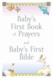 Picture of BABY'S FIRST BOOK OF PRAYERS & FIRST BIBLE Gift set slipcase