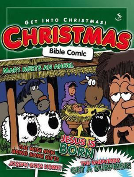 Picture of GET INTO CHRISTMAS BIBLE COMIC