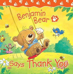 Picture of BENJAMIN BEAR SAYS THANK YOU