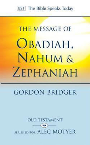 Picture of BST/MESSAGE OF OBADIAH NAHUM & ZEPHANIAH