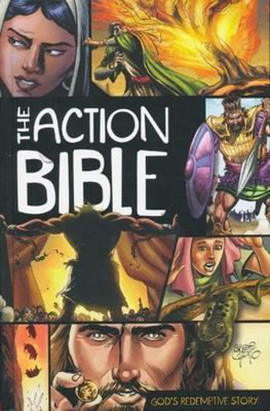 Picture of THE ACTION BIBLE hardback