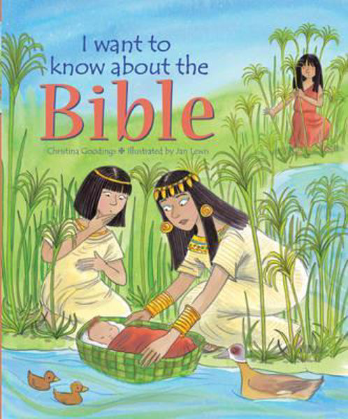 Picture of I WANT TO KNOW ABOUT THE BIBLE