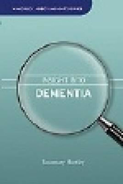 Picture of INSIGHT INTO DEMENTIA