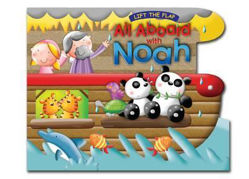 Picture of ALL ABOARD WITH NOAH/ LIFT THE FLAP