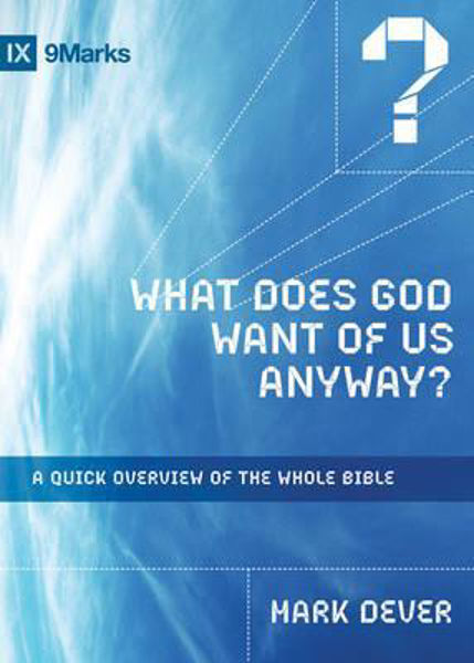 Picture of WHAT DOES GOD WANT OF US ANYWAY?