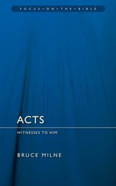 Picture of FOCUS ON THE BIBLE/ACTS