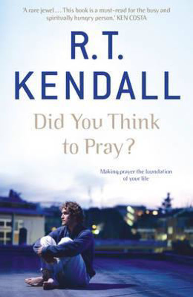 Picture of DID YOU THINK TO PRAY?