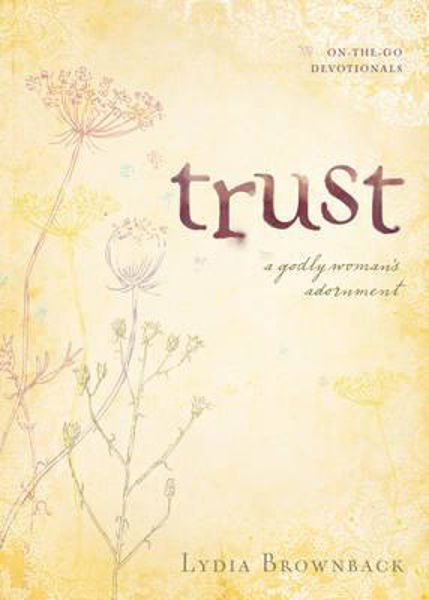 Picture of ON THE GO DEVOTIONALS/TRUST