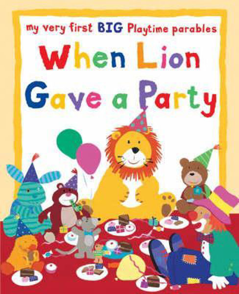Picture of MY VERY FIRST BIG BOOK/WHEN LION GAVE A
