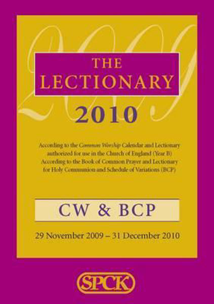 Picture of THE LECTIONARY 2010 COMMON WORSHIP & BCP