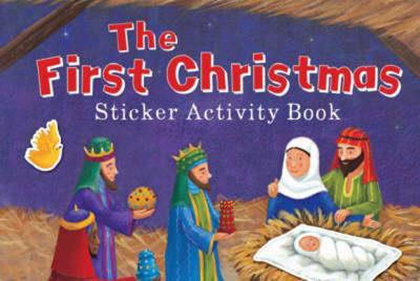 Picture of FIRST CHRISTMAS STICKER ACTIVITY BOOK