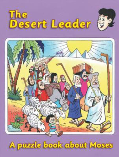 Picture of PUZZLE N LEARN/THE DESERT LEADER/MOSES