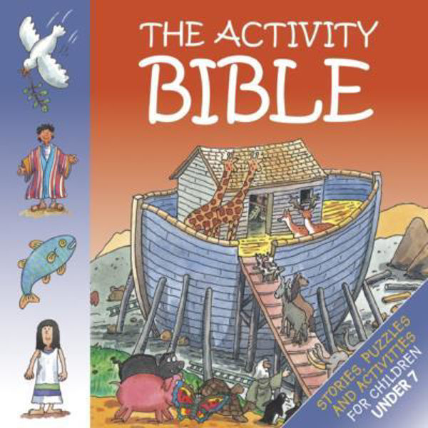 Picture of THE BIBLE ACTIVITY BOOK/CHILDREN UNDER 7