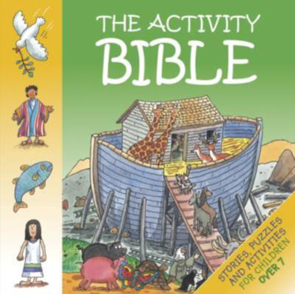 Picture of THE BIBLE ACTIVITY BOOK/CHILDREN OVER 7
