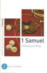 Picture of GOOD BOOK GUIDE/1 SAMUEL Choose your king