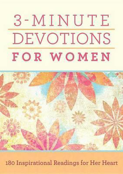 Picture of 3 MINUTE DEVOTIONS FOR WOMEN