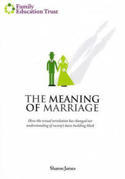Picture of THE MEANING of MARRIAGE Booklet