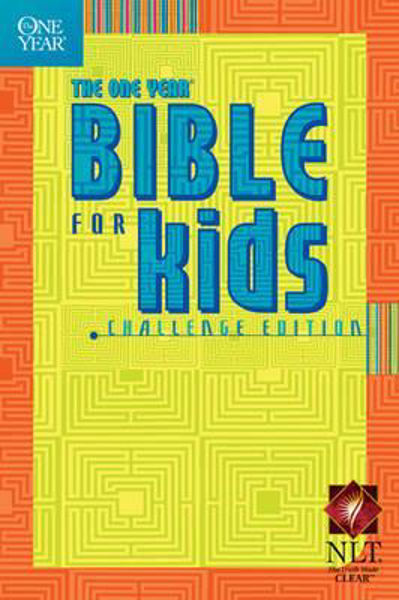 Picture of NLT ONE YEAR BIBLE KIDS CHALLENGE