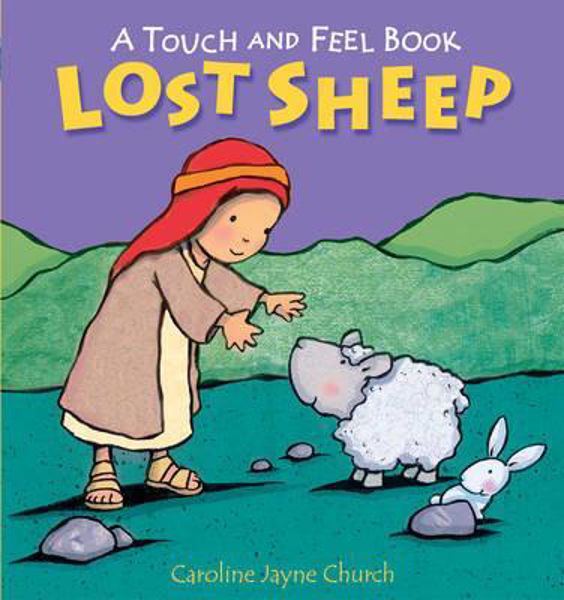 Picture of A TOUCH AND FEEL BOOK/LOST SHEEP
