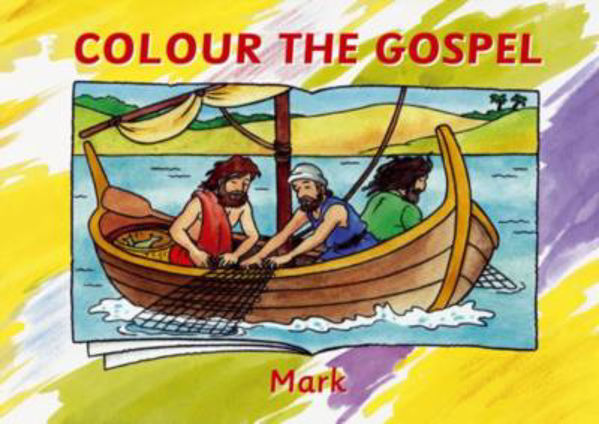 Picture of COLOUR THE GOSPEL/MARK