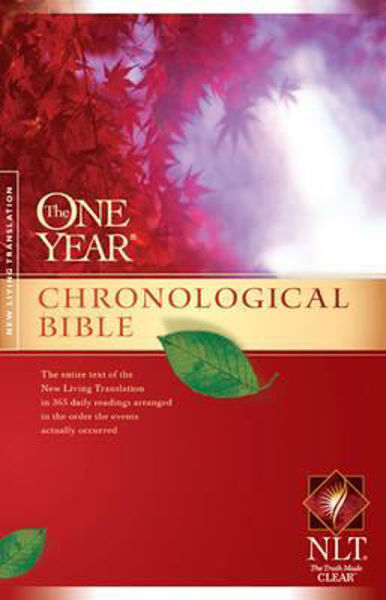 Picture of NLT ONE YEAR CHRONOLOGICAL BIBLE