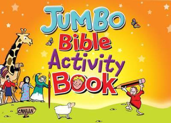 Picture of JUMBO BIBLE ACTIVITY BOOK/#1 Book 1