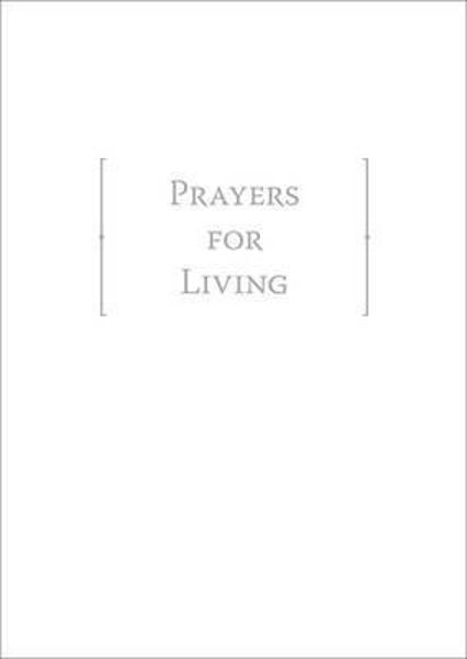 Picture of PRAYERS FOR LIVING with slipcase