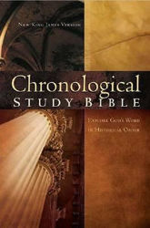 Picture of NKJV CHRONOLOGICAL STUDY BIBLE