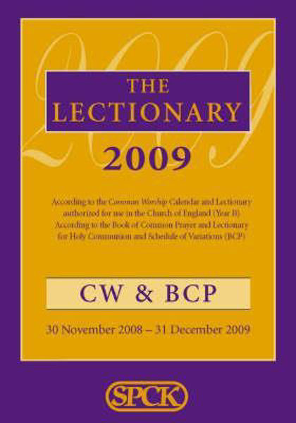 Picture of COMMON WORSHIP BCP LECTIONARY 2009