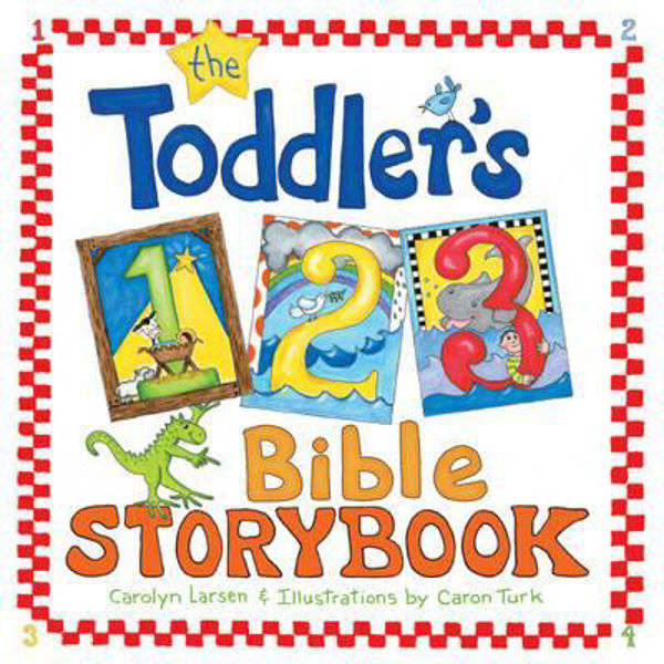 Picture of TODDLER'S 123 BIBLE STORYBOOK