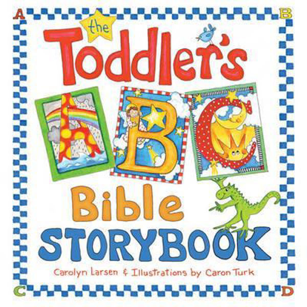 Picture of TODDLER'S ABC BIBLE STORYBOOK