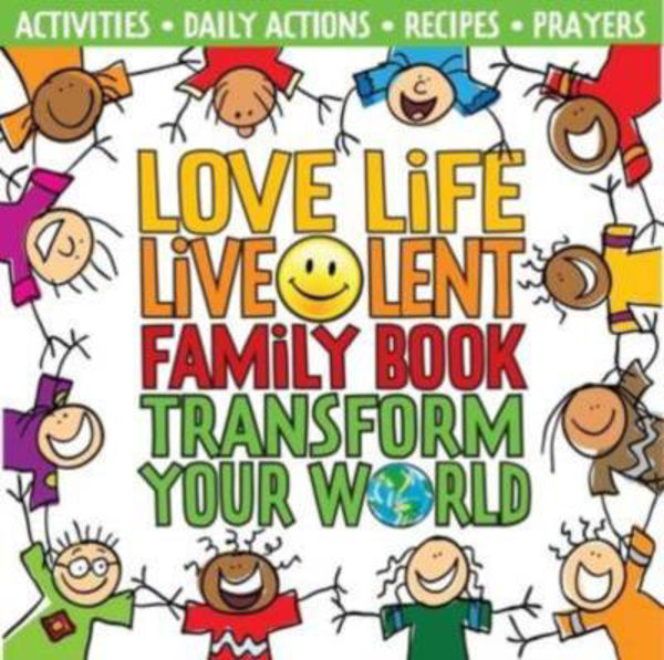 Picture of LOVE LIFE LIVE LENT FAMILY BOOK
