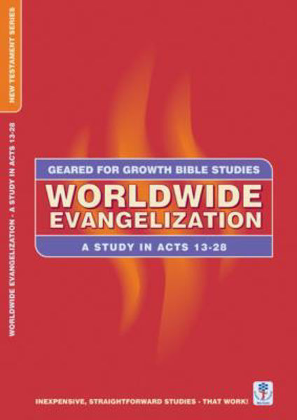 Picture of GEARED 4 GROWTH/ACTS 13-28 WORDLWIDE EVA