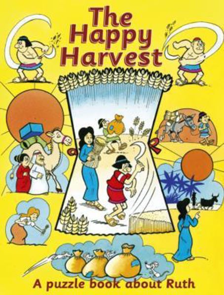 Picture of PUZZLE N LEARN/THE HAPPY HARVEST/RUTH