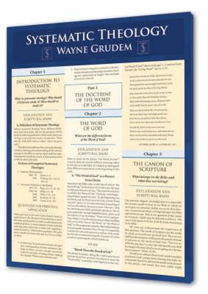 Picture of SYSTEMATIC THEOLOGY A4 LAMINATED GUIDE