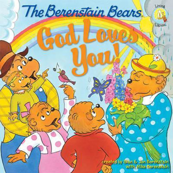Picture of BERENSTEIN BEARS GOD LOVES YOU
