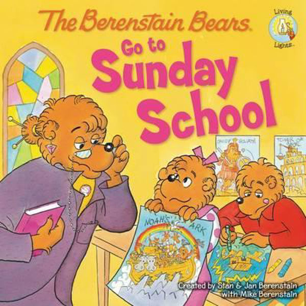 Picture of BERENSTAIN BEARS GO TO SUNDAY SCHOOL