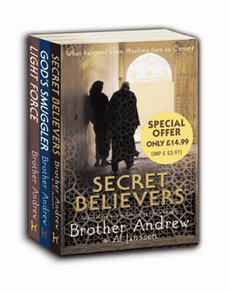 Picture of BROTHER ANDREW TRILOGY SET SPECIAL OFFER