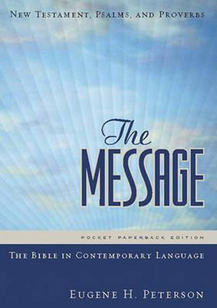 Picture of THE MESSAGE/NEW TESTAMENT & PSALMS