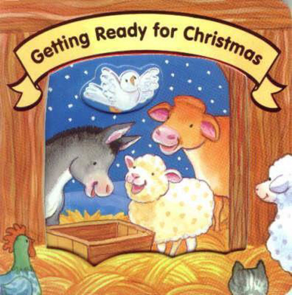 Picture of GETTING READY FOR CHRISTMAS  board