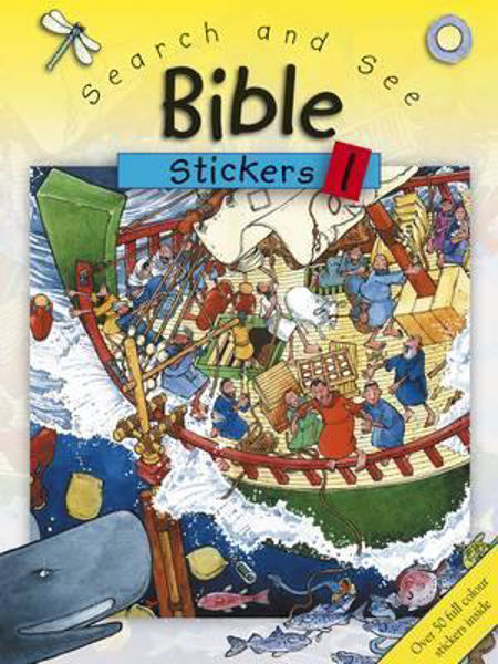 Picture of SEARCH AND SEE BIBLE STICKERS 1