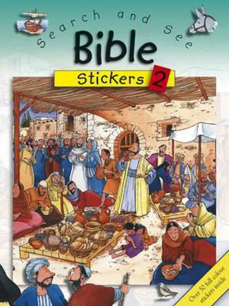 Picture of SEARCH AND SEE BIBLE STICKERS 2
