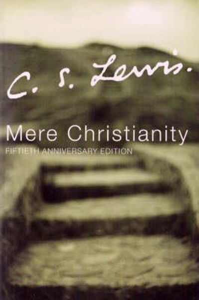 Picture of MERE CHRISTIANITY Hardcover 50th Anniver