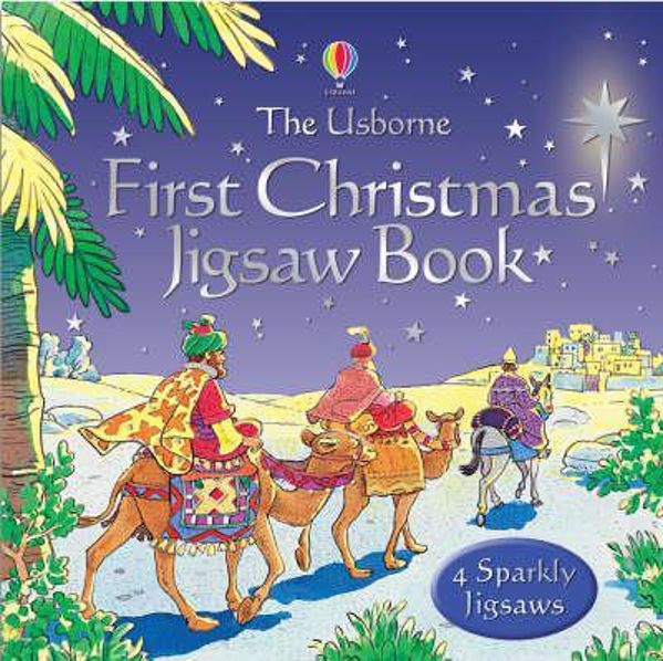 Picture of USBORNE FIRST CHRISTMAS JIGSAW BOOK