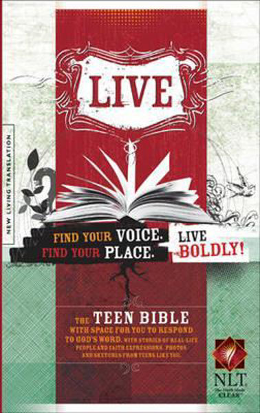 Picture of NLT LIVE Teen Youth Bible hbk