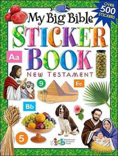 Picture of MY BIG BIBLE STICKER BOOK NT
